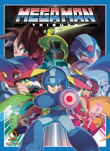 Mega Man Tribute Cover