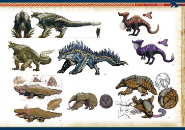 Monster Hunter Illustrations HC preview03 (2)