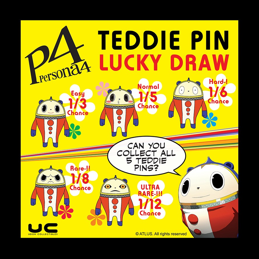 Teddie Lucky Draw Revised